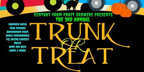 2019 TRUNK OR TREAT tickets