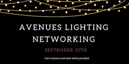 Networking Social at Avenues Lighting