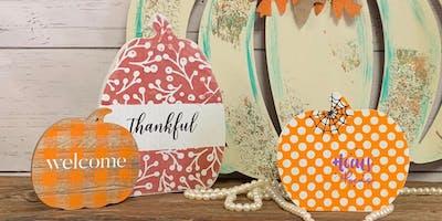 Chalk About Fall - Pumpkin Class