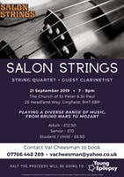 Salon Strings Fundraiser for Young Epilepsy