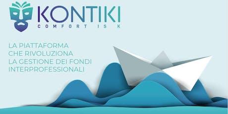 Presentazione format Fondimpresaonline by KONTIKI biglietti