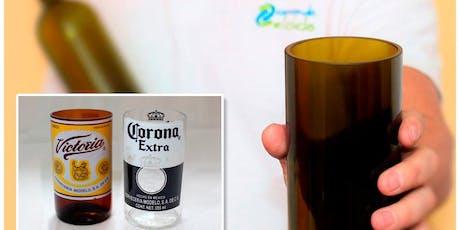 Haz tu propio vaso a partir de una botella de vidrio tickets