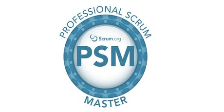 Professional Scrum Master I - SP Novembro ingressos