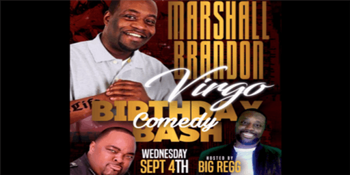 Marshall Brandon and Big Regg LOL Comedy Show with Gerald Kelly
