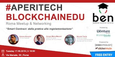 ROMA - Meetup #AperiTech di Blockchain Education Network Italia