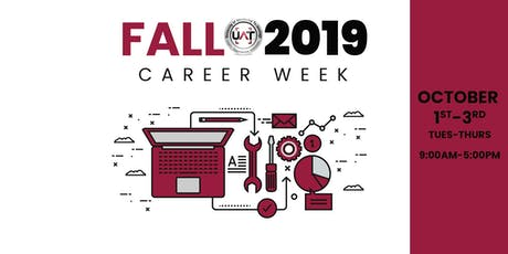 UAT Fall 2019 Career Week tickets