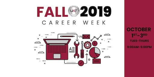 UAT Fall 2019 Career Week