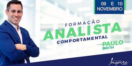 FORMAÇÃO EM ANALISTA COMPORTAMENTAL ingressos