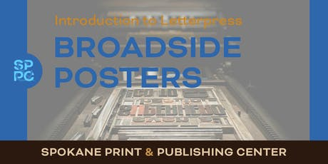 Intro to Letterpress: Broadside Posters tickets