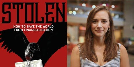 Grace Blakeley - Book launch 'Stolen', Q&A + book signing tickets