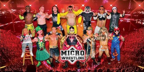 21 & Up Micro Wrestling at The Woodlands Inn Resort! tickets