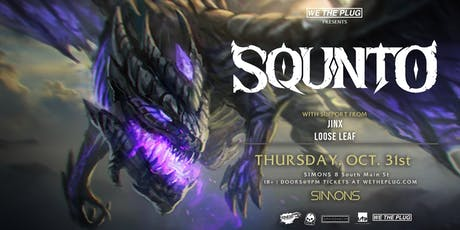 We The Plug Presents: SQUNTO - Halloween Party at Simons 10.31.19 tickets
