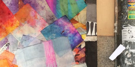 Creative Flow Fridays: Silk painting overview - prayer flags tickets