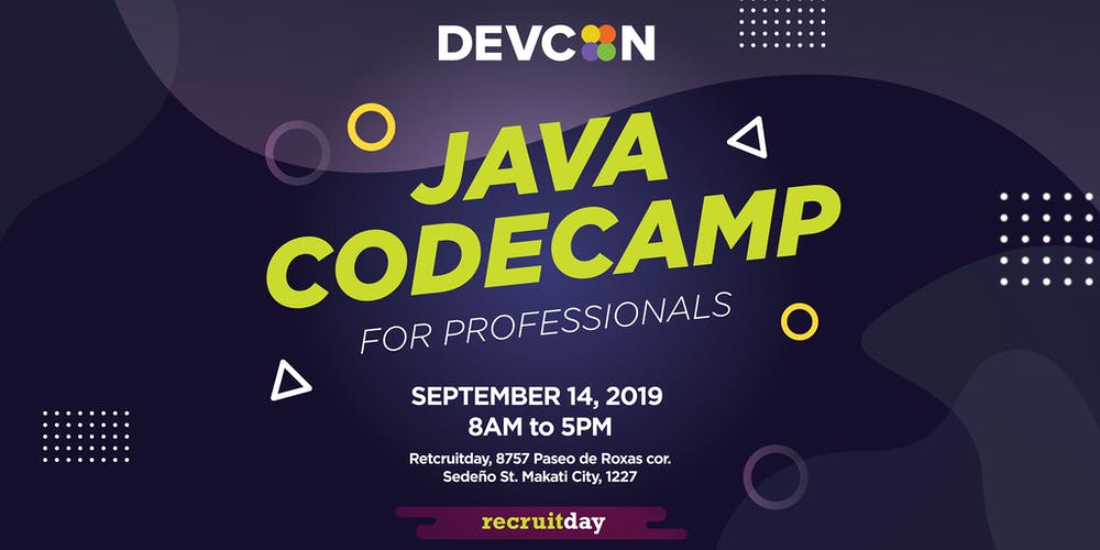 Devcon - Java Code Camp for Professionals Tickets, Sat, Sep