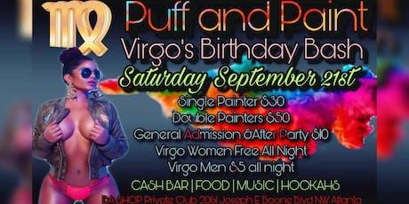 Puff N  paint/ Virgo Birthday Bash tickets