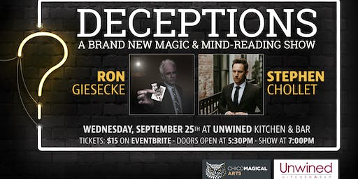 Deceptions: A Magic & Mind-Reading Show