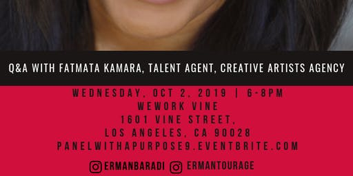 Panel with a Purpose: Talent Agent Q&A