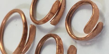 Jewellery Workshop - Beaten Wire Ring (Craft 4 Crafters Exhibition) tickets
