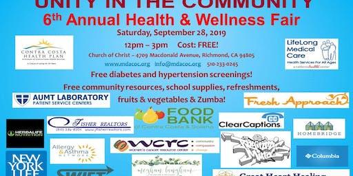6th Annual Health & Wellness Fair