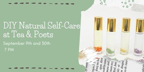 DIY Essential Selfcare at Tea & Poets tickets