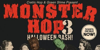 Monster Hop 3rd Annual Halloween Bash