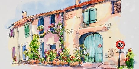 Line and Watercolour Sketching for Beginners tickets