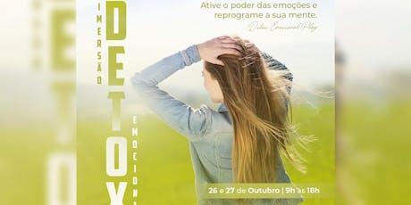 IMERSÃO DETOX EMOCIONAL PLAY ingressos