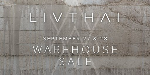 Liv Thai Warehouse Sale