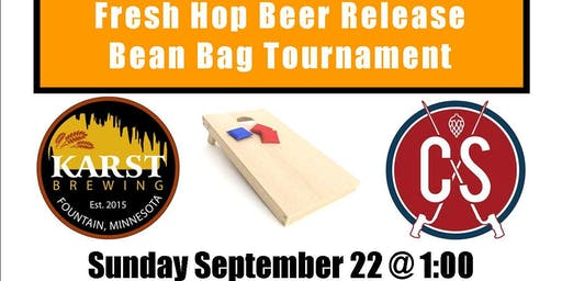Fresh Hop Beer Release 2019 Bean Bag Tournament