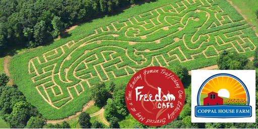 Corn Maze & Cork Pull - A Benefit Event for Freedom Café!