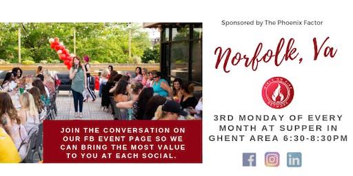 Norfolk, Va | Girls on Fire Monthly Social