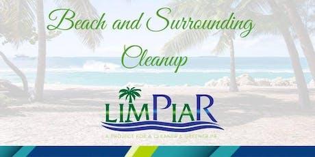 Limpieza de Playas/ Beach Cleanup tickets