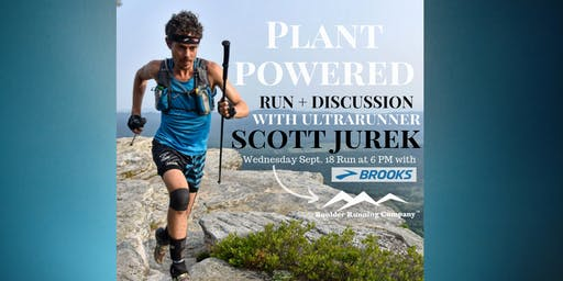 Plant Powered Run & Discussion with Scott Jurek