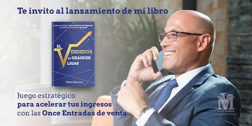 Presentación El Vendedor de grandes ligas de Vilato Marrero