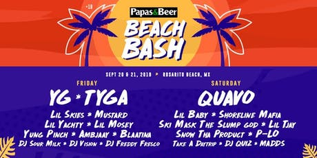 Papas and Beer Beach Bash 2019 tickets