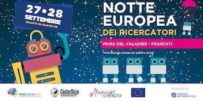 Oh my Robots! by MindSharing.tech  @Notte Europea dei Ricercatori 2019 - Frascati Scienza