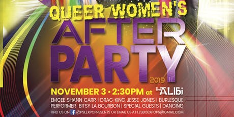 Palm Springs Pride - Women's After Party tickets