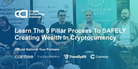 CRYPTOCURRENCY INVESTORS Learn The 5 Pillar Process To SAFELY Create Wealth tickets