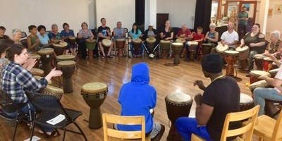 Special One Time African Drum Workshop for Everybody!