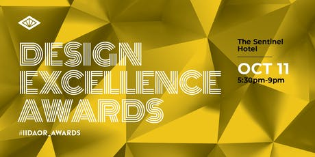 IIDA Oregon Chapter - 2019 Design Excellence Awards - SPONSORSHIP tickets