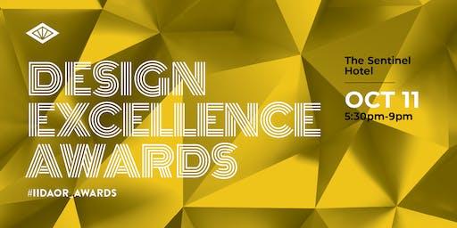 IIDA Oregon Chapter - 2019 Design Excellence Awards - SPONSORSHIP
