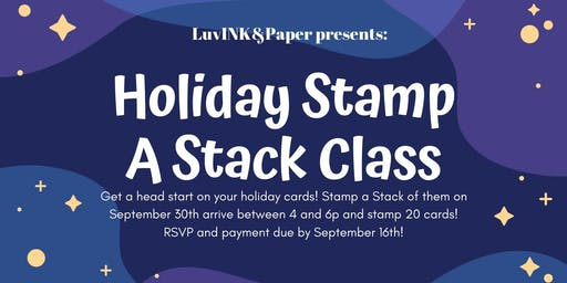 Holiday Stamp A Stack 2