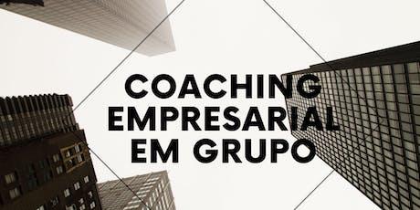 Coaching Empresarial em grupo ingressos