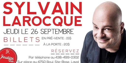 Sylvain Larocque humoriste