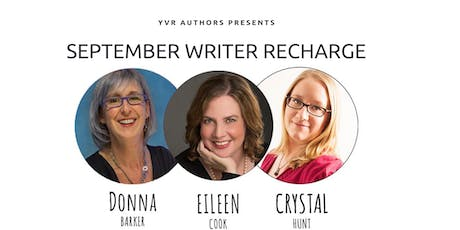 September Writer Recharge tickets