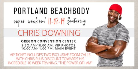 November Portland Beachbody Super Sunday featuring Chris Downing tickets