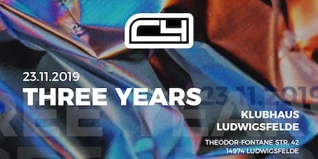 C4 Three Years  Tickets