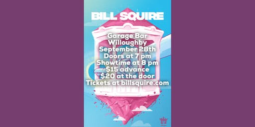 Bill Squire at Garage Bar Willoughby