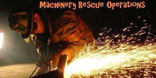16 hr Machinery Rescue Operations Course (Cranston, RI) 10/26 & 10/27