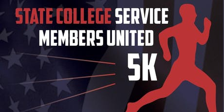 State College Service Members United 5K tickets